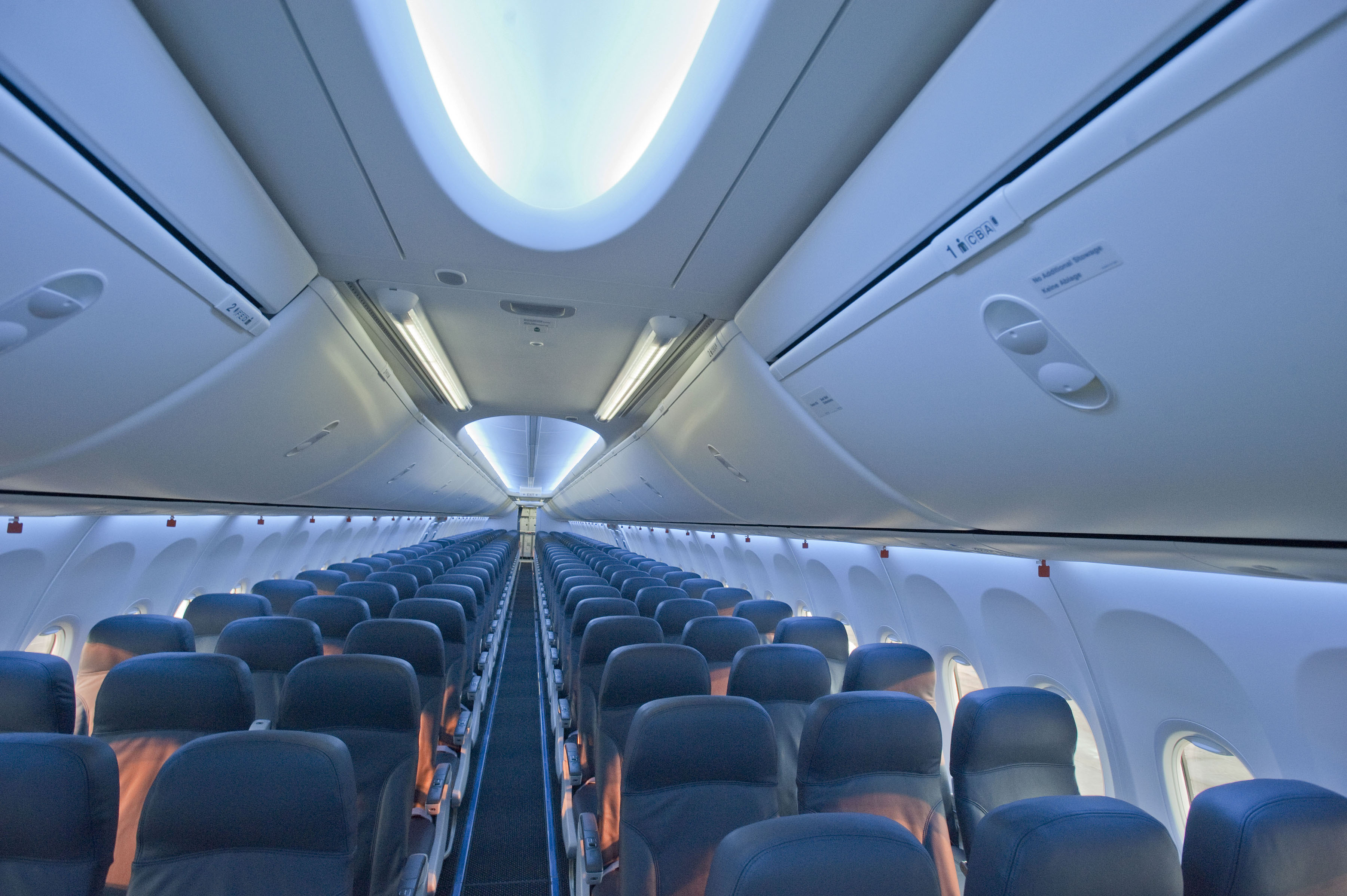 Media centre tui fly for Interieur 737
