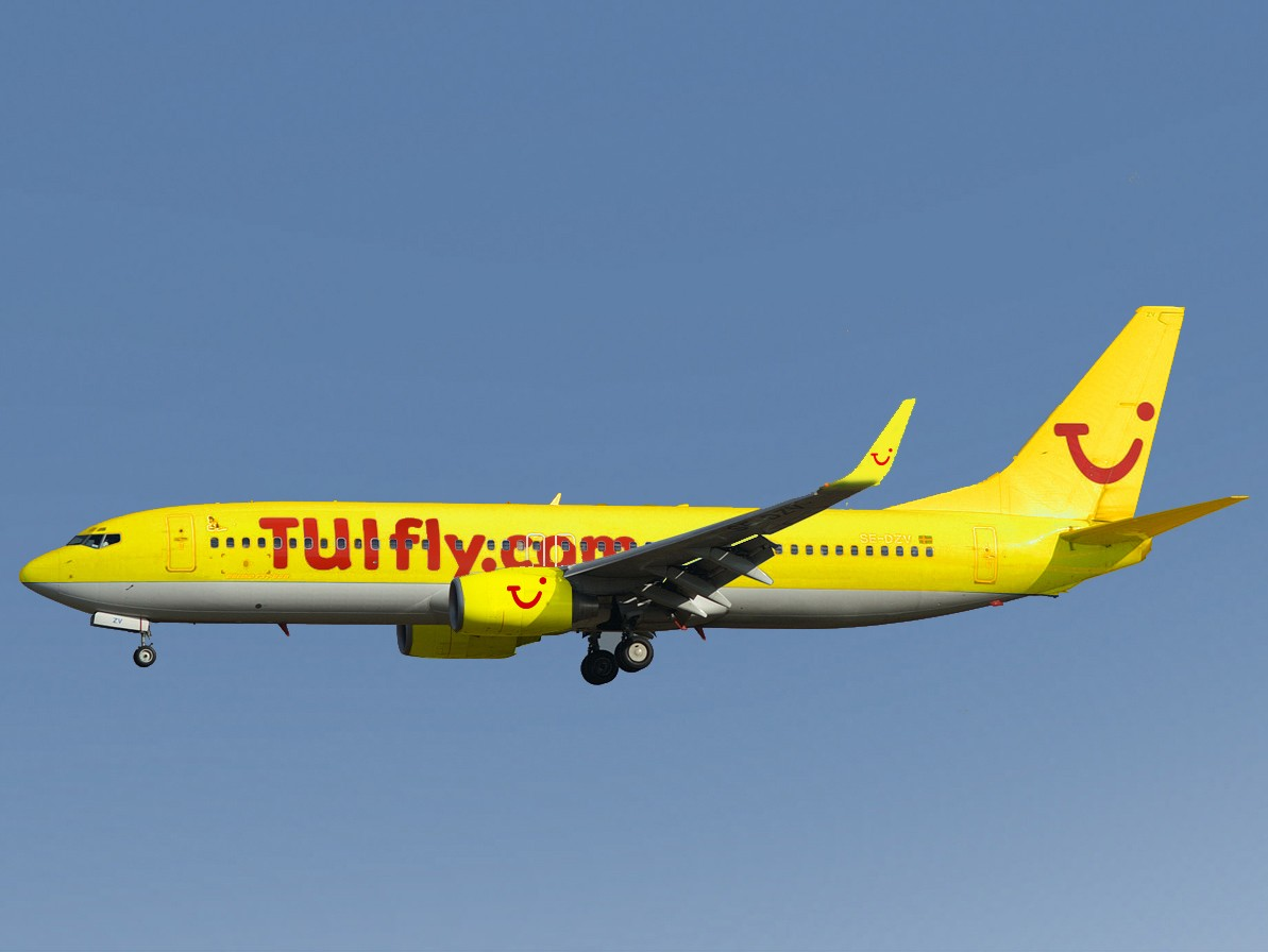 Airline TYUI Fly (TUI fly). Official sayt.2
