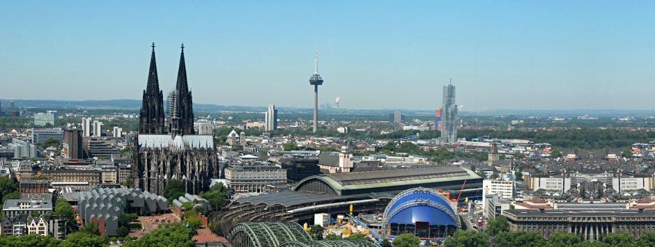Flüge von Berlin - Schönefeld nach Köln / Bonn