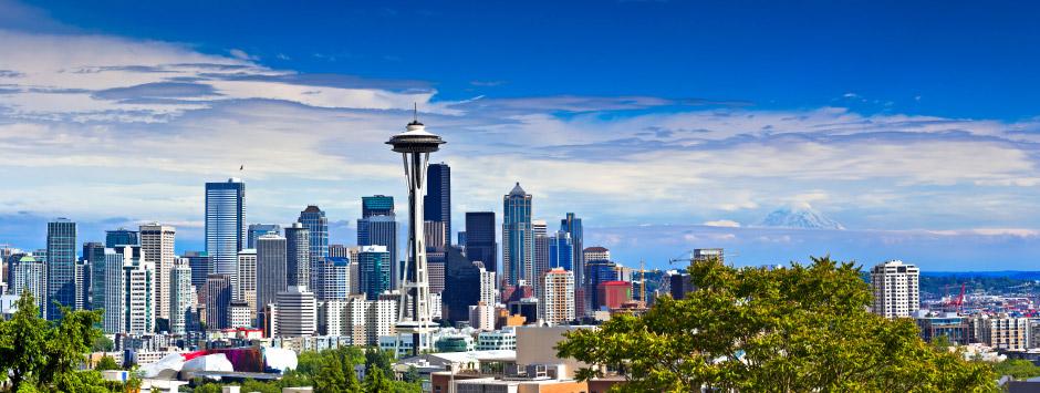 Billigflüge von Frankfurt nach Seattle - Tacoma