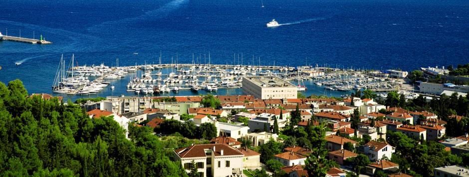Flüge von Sylt nach Split