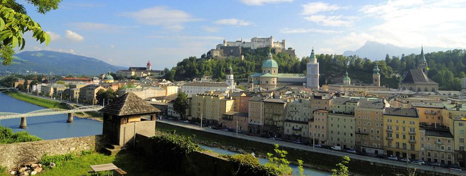 Flugtickets von Hamburg nach Salzburg